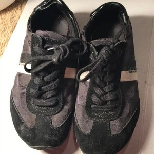 Coach New York Black Sneakers - Sz 6B